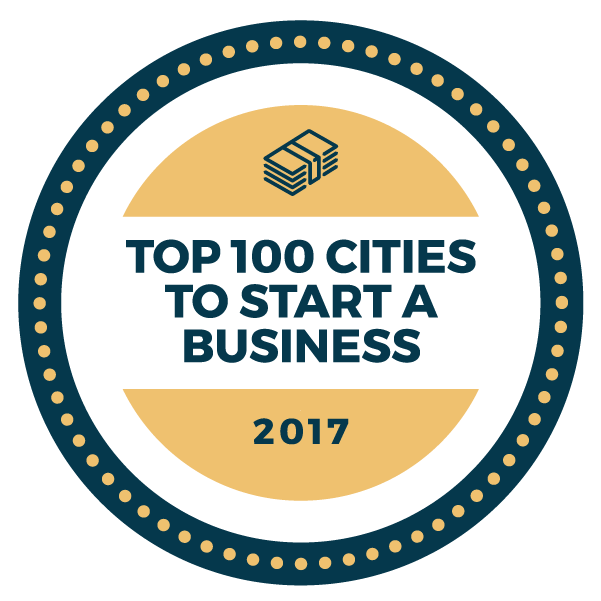 Top 100 Cities to Start a Business in the U.S.