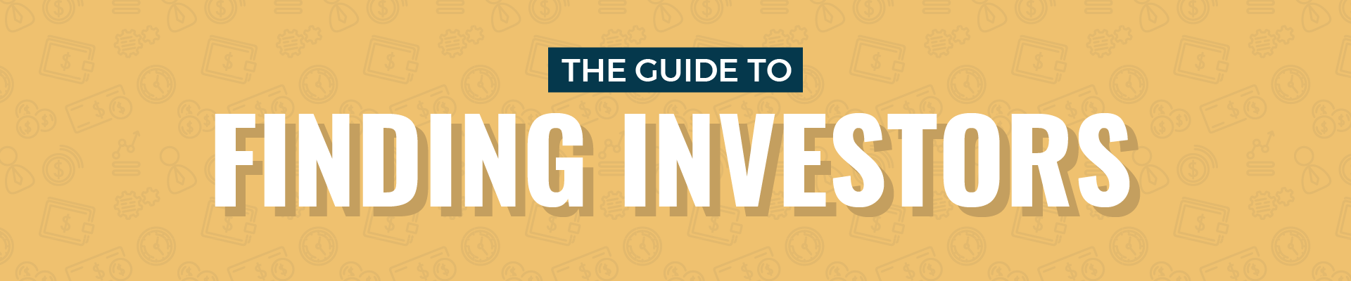 guide to finding investors